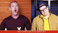 Fans Are Loving Josh Gad And Luke Evans' Disney Singalong Performance