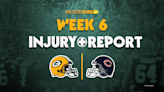 Everything to know from Packers' first injury report of Week 6