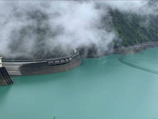 山區下雨 德基水庫再進帳188萬噸