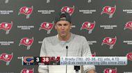 Tom Brady reacts to meeting Bucs' fan postgame
