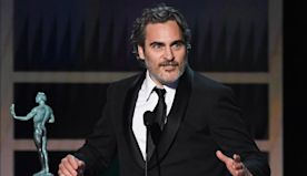 Joaquin Phoenix tributes 'favorite actor' Heath Ledger in moving SAG Awards speech