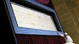 Mysterious Shroud of Turin on virtual display for coronavirus prayer
