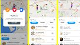 Snapchat's built-in map will start recommending places for you to visit
