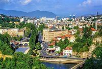 The Biggest Cities In Bosnia And Herzegovina - WorldAtlas