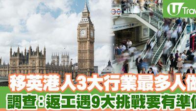 【移民英國】移英港人3大行業最多人做調查:返工遇9大挑戰要有準備! | U Travel 旅遊資訊網站