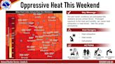Watch now: Intense heat, humidity expected this weekend in Central Illinois