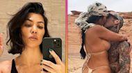 Kourtney Kardashian Debuts Dramatic Haircut, Travis Barker Reacts