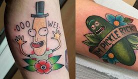 10 Tattoo Ideas For Fans Of Rick & Morty