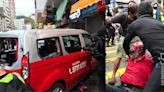 【10.6 深水埗】剷上行人路的士司機遭「私了」 男經理擬認暴動罪 女教師擬不認罪   立場報道   立場新聞