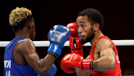 American Duke Ragan Fighting for Featherweight Boxing Gold