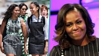 Michelle Obama Worries About Malia & Sasha Facing Racism 'Every Time They Get In A Car By Themselves'