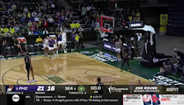 Skylar Diggins-Smith with an Assist vs. Seattle Storm