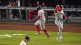 Nats rout Yankees 11-4 on late homers and 3 errors