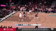 Jarred Vanderbilt with a dunk vs the Brooklyn Nets