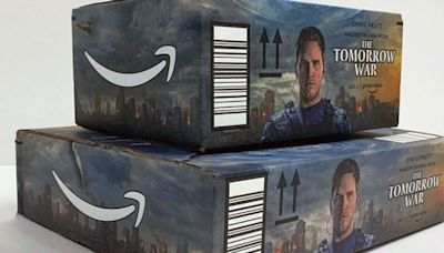 'The Tomorrow War' Being Promoted by Amazon on Shipping Boxes (EXCLUSIVE)