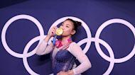 Suni Lee's 'proud' parents hail Olympic gold