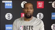 Kevin Durant talks Achilles injury, playing with Kyrie and addresses the James Harden rumors