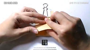 用一疊紙摺台灣 達人為防疫加油