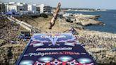 """Red Bull cliff diving, nella finale di Polignano a Mare trionfano Hunt e Iffland. De Rose terzo: """"Per me vale come il primo posto"""""""