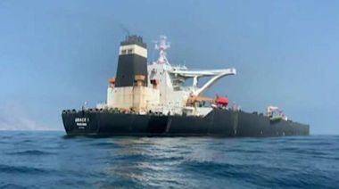 Iranian oil tanker heads to Greece after release from Gibraltar