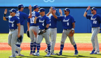 Olympics-Baseball-Israel pounds Mexico out of Tokyo 2020 in 12-5 battering
