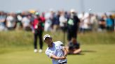 Golf-Oosthuizen chases down Morikawa to lead Open at halfway point