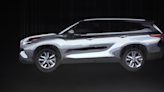 2020 Toyota Highlander Shows Its Stuff before Its Official Debut