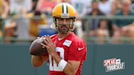 Greg Jennings on Aaron Rodgers' comments about relationship with Packers GM I SPEAK FOR YOURSELF
