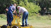 Restored railroad handcar unveiled in Richmond