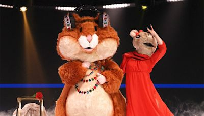 The Masked Singer 's Hamster dishes on why pals Adam Sandler and Chris Rock would never do the show