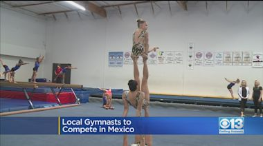 Local National Champion Gymnasts To Compete In Mexico