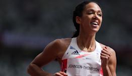 Katarina Johnson-Thompson makes steady start in heptathlon at Tokyo 2020