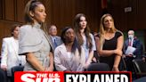 Larry Nassar victims seek justice over USA Gymnastics doctor's sex abuse