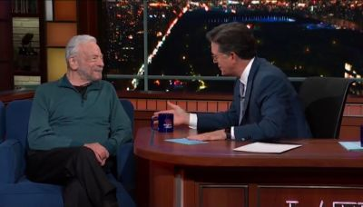 Colbert's Praise Causes Stephen Sondheim (and Everyone Who Watched) to Tear Up (Video)