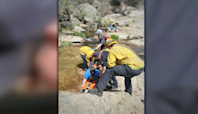 Hiker rescued from Angel Falls near Bass Lake for second day in a row