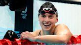 Katie Ledecky Returns to Former School Stomping Grounds; Inspires Next Generation
