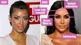 Kim's changing face as she hits 40 & why she's probably about to reach for Botox