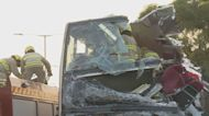 粉嶺公路車禍 乘客指事出突然巴士衝力很大