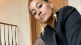 Tracee Ellis Ross, 48, Reveals Her Killer Legs In Sheer Tights And No Pants On Instagram
