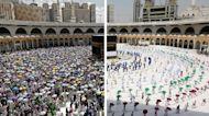 Hajj Pilgrimage Amid Covid-19: Social Distancing, Temperature Checks and Crowd Control