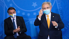 Brazil's health minister tests positive for COVID while in New York City for UN gathering
