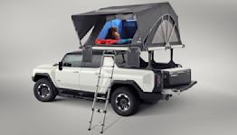2022 GMC Hummer EV shows off accessories ahead of SEMA