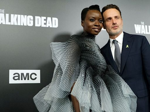 'The Walking Dead's Andrew Lincoln Gives Danai Gurira A Musical Farewell