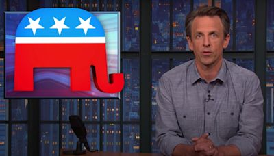 Seth Meyers: Republicans 'genuinely befuddled by a president who's likable'