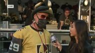 Las Vegas celebrates Golden Knights at annual Fan Fest downtown
