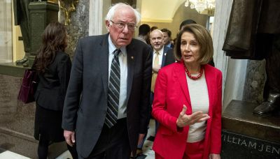 Pelosi and Sanders brace for Democratic upheaval over Biden agenda