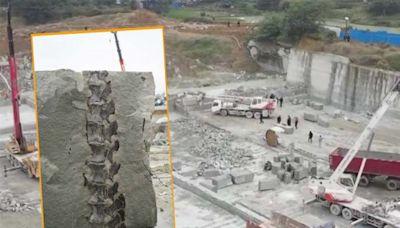 四川地盤發現10米長恐龍化石 品種罕見距今1.6億年