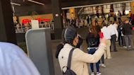 Hundreds Line up in Mexico City as Shopping Centers Reopen