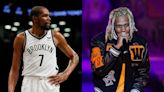 Kevin Durant Marvels Over Lil Durk's Basketball Skills