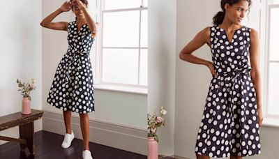 Snap up this flattering Boden summer dress that is getting glowing reviews